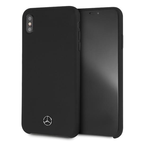 Tvrdé pouzdro Mercedes MEHCI65SILBK iPhone XS Max black