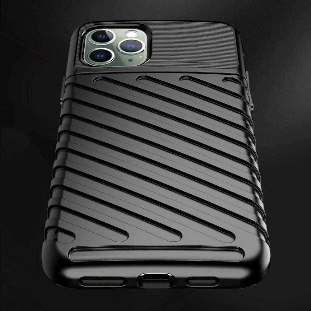 Thunder silikonové pouzdro na iPhone 11 Pro Max black