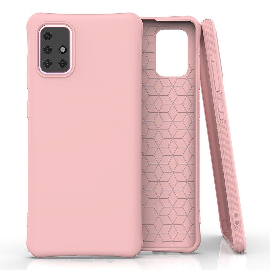 Soft Color silikonové pouzdro na Samsung Galaxy M31s pink