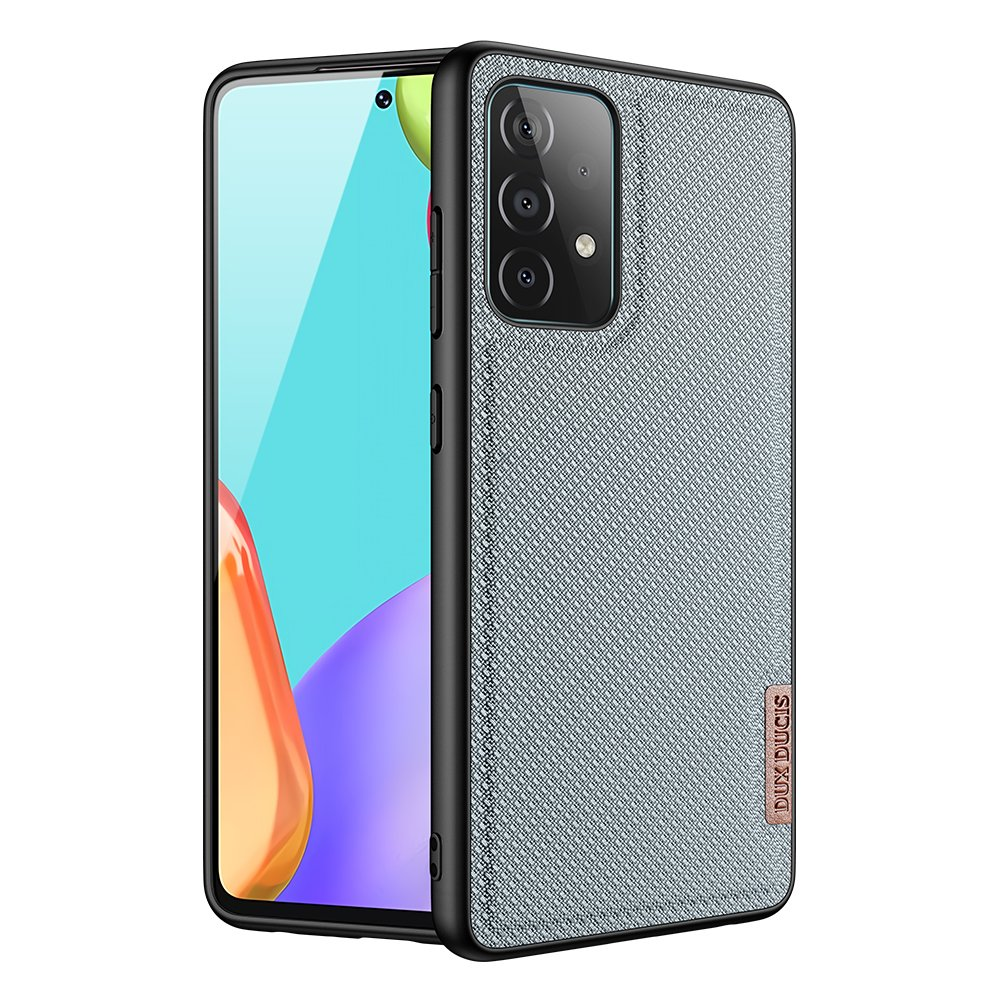 Luxusní pouzdro Dux Ducis Fino Nylon ,  Samsung Galaxy A72 4G , modrá 6934913053676