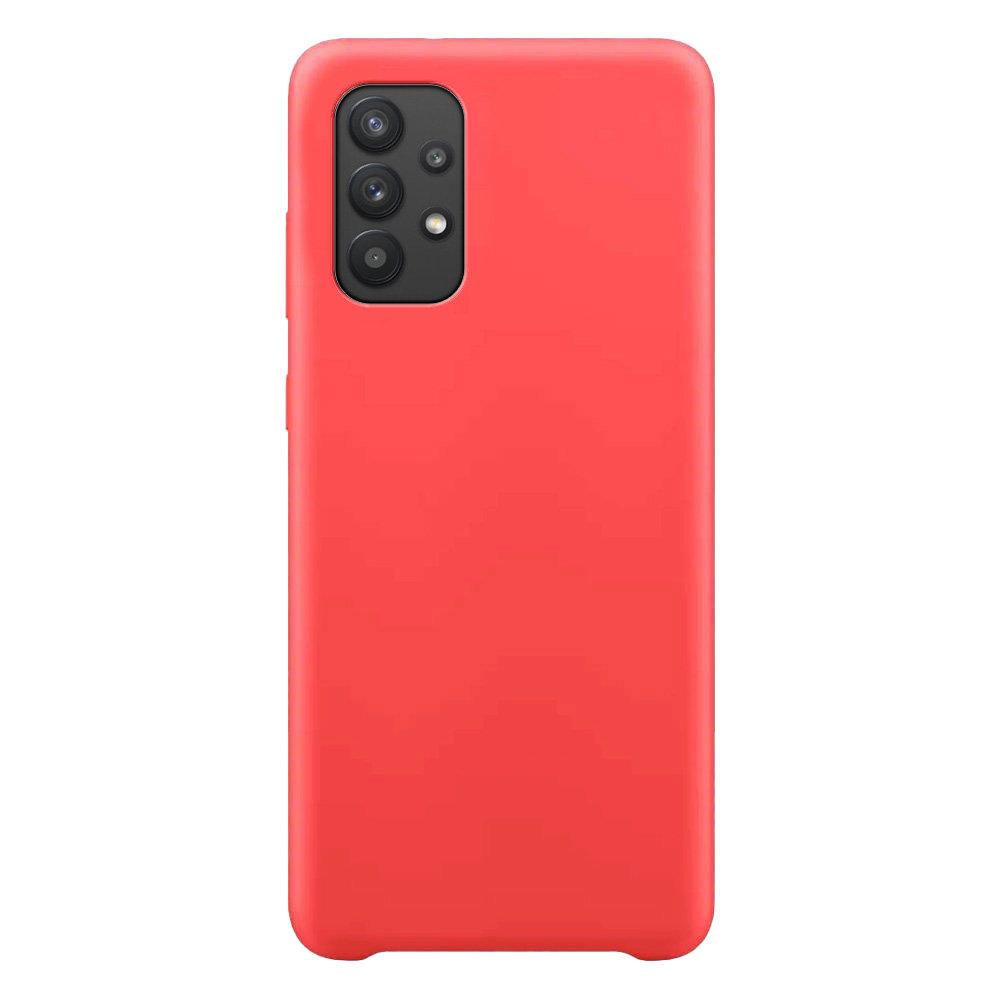 Silikonové pouzdro LUX na Samsung Galaxy A32 5G red