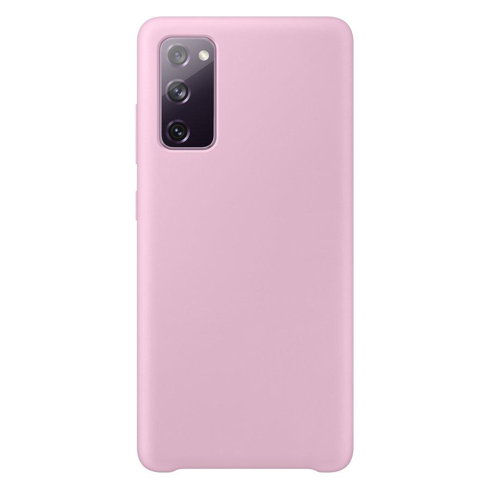 Silikónové púzdro LUX na Samsung Galaxy S20 FE 5G pink