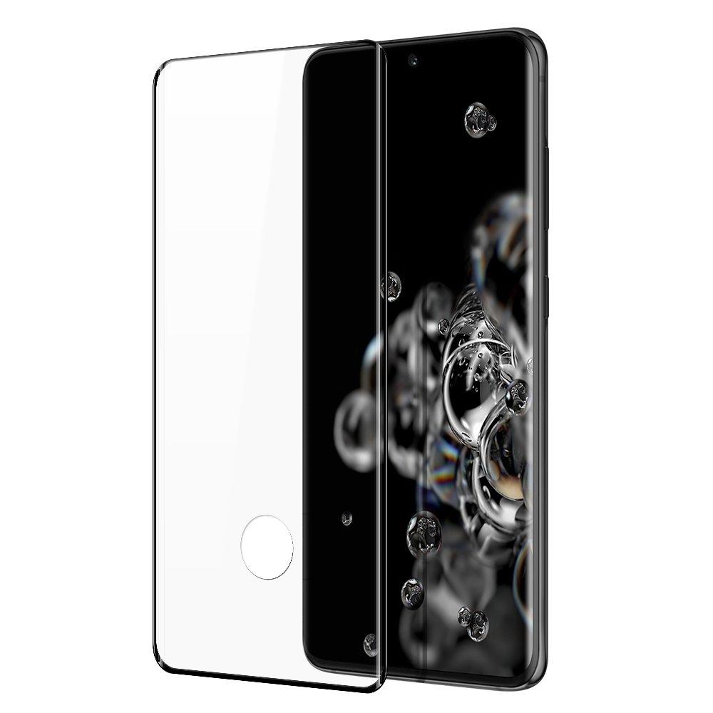 Dux Ducis celoplošně lepené tvrzené sklo 9H pro Samsung Galaxy S21 ULTRA 5G black (case friendly)
