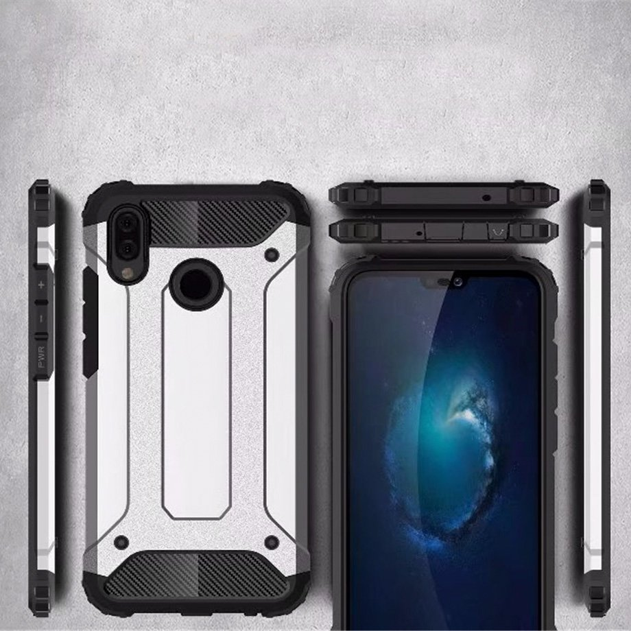 Hybrid polykarbonátové pouzdro Huawei P20 Lite blue
