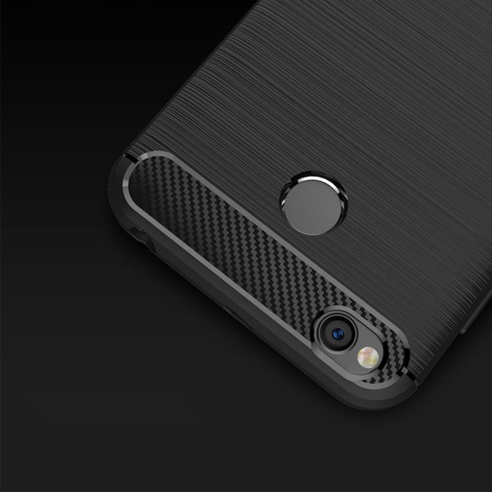 Carbon silikonové pouzdro pro Xiaomi Redmi 6A blue