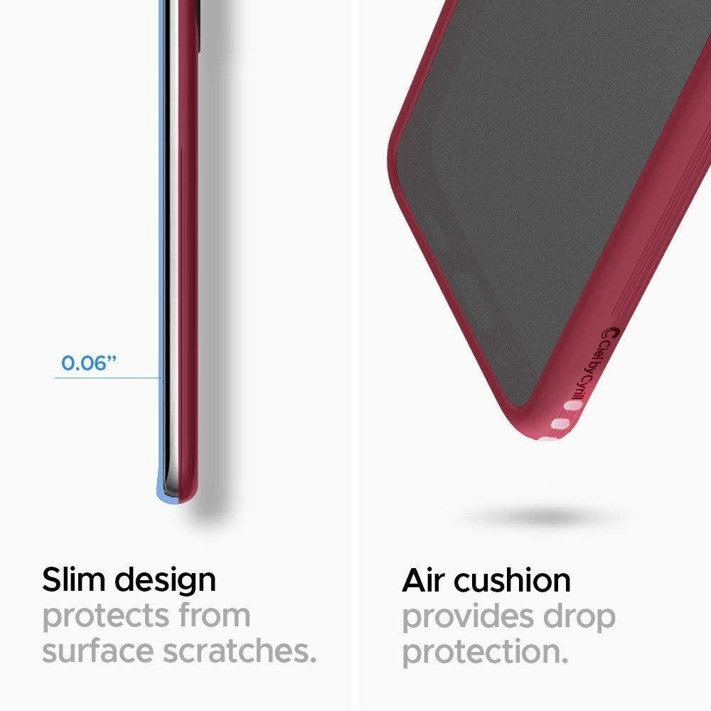 Spigen Ciel Color Brick silikonové pouzdro na Samsung Galaxy S20 Ultra Burgundy