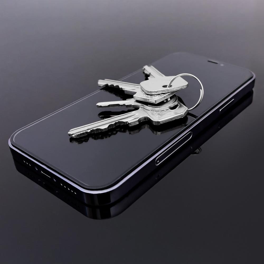 Celoplošné temperované tvrzené sklo na Samsung Galaxy A51 black