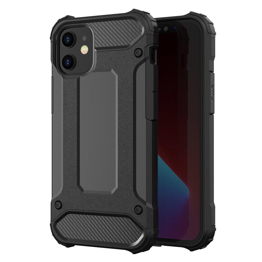 Hybrid pancéřové polykarbonátové pouzdro na iPhone 12 Pro Max black