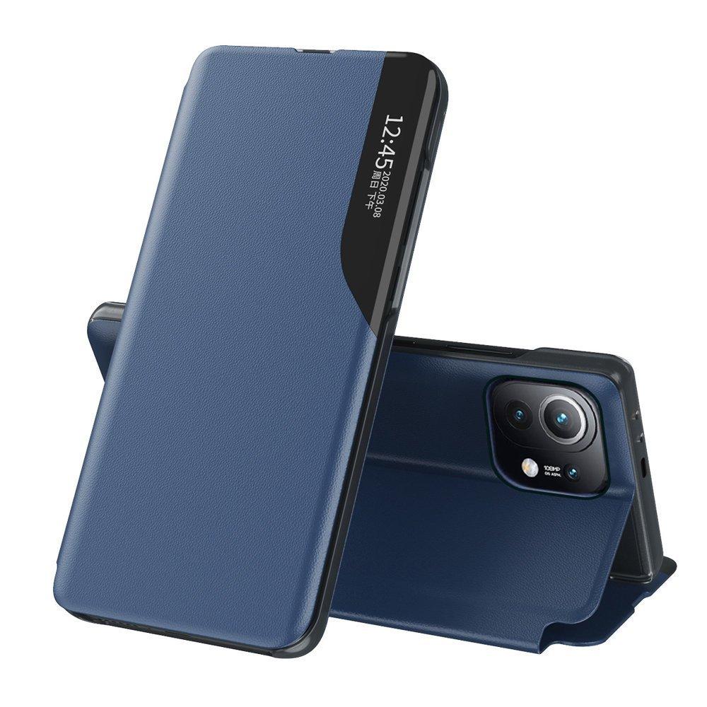 Knížkové pouzdro s imitací kůže na Xiaomi Mi 11 blue