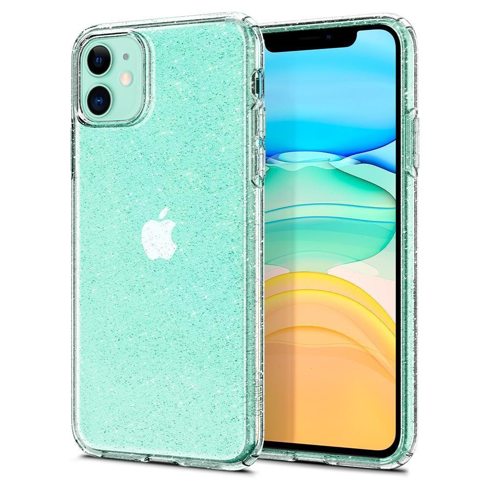 Spigen Liquid Crystal silikonové pouzdro na iPhone 11 Glitter Crystal