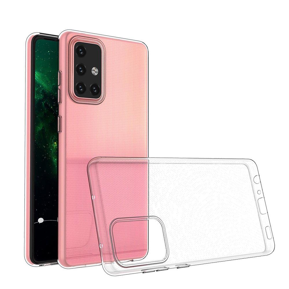 Ultra Clear 0.5mm silikónové puzdro pre Samsung Galaxy A72 transparent