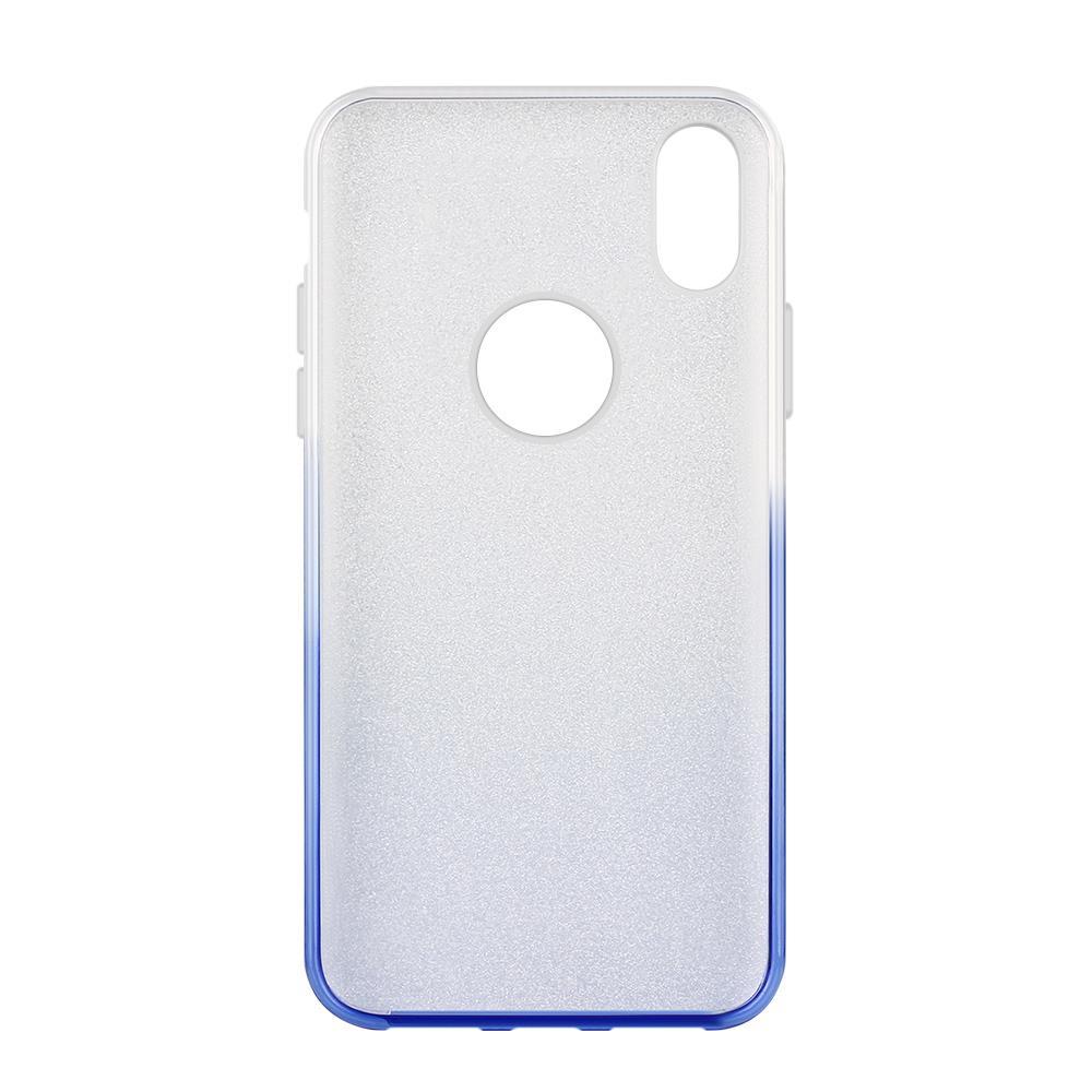 Wozinsky Glitter Shining silikonové pouzdro iPhone XR blue
