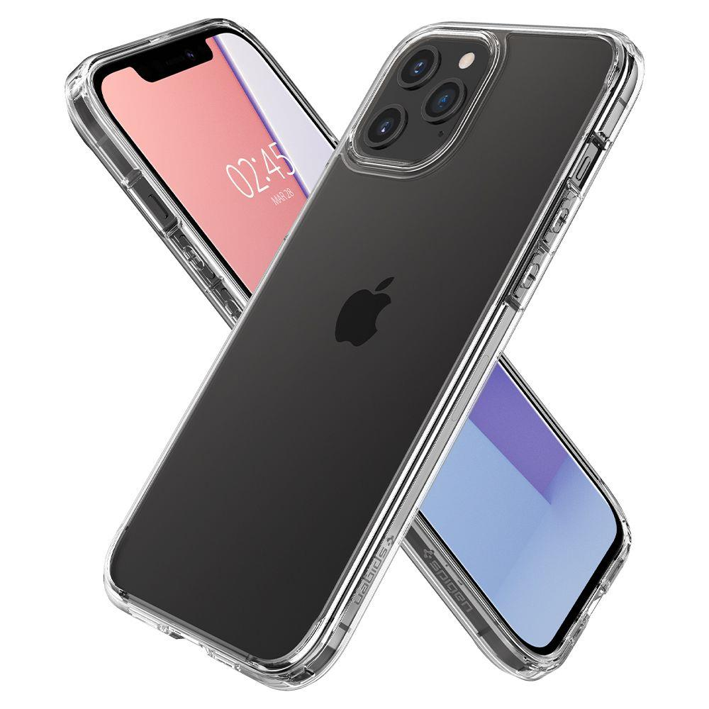 Spigen Ultra Hybrid pouzdro na iPhone 12 Pro Max Crystal Clear