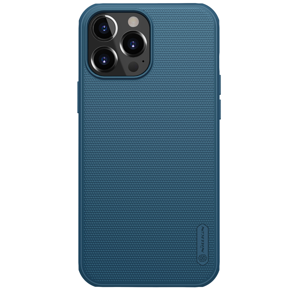 "Nillkin Super Frosted Pro silikonové puzdro naiPhone 13 Pro MAX 6.7"" blue"