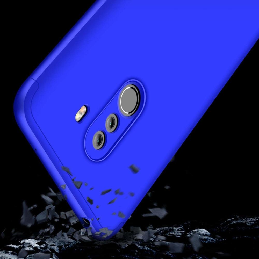 GKK 360 Protection pouzdro na Xiaomi Pocophone F1 blue