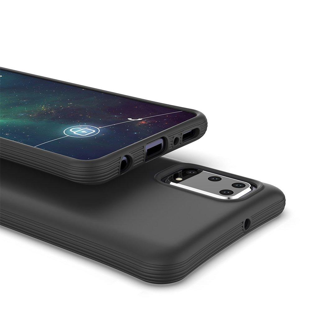 Soft Color silikonové pouzdro na Samsung Galaxy A41 Black