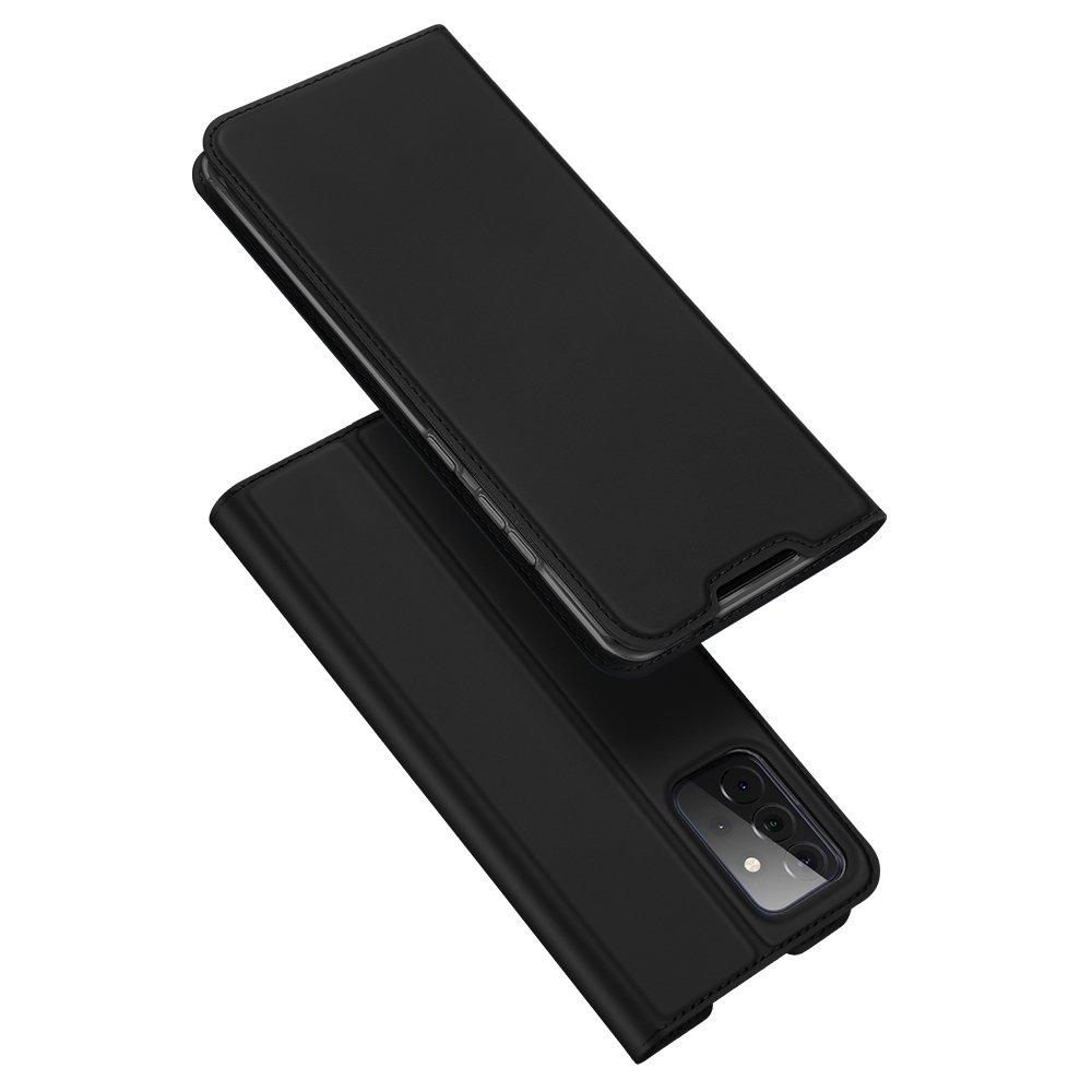 DUX DUCIS Skin knížkové púzdro pre Samsung Galaxy A72 black