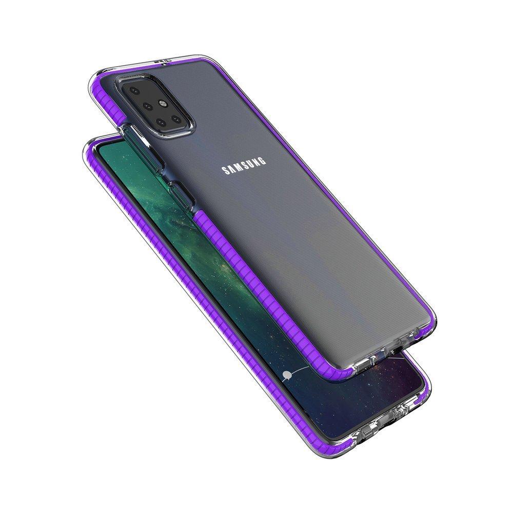 Spring silikonové pouzdro na Samsung Galaxy A51 dark blue