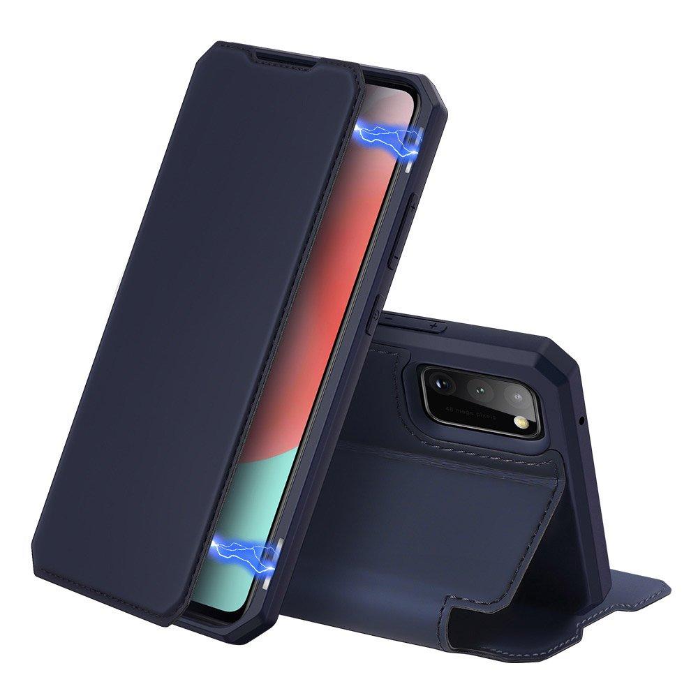 DUX DUCIS Skin X knížková puzdro na pre Samsung Galaxy A41 blue