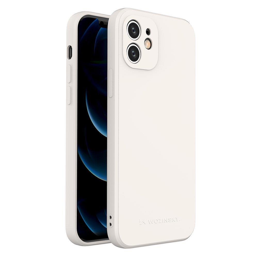 Wozinsky Color Case silikónové puzdro na iPhone 12 white