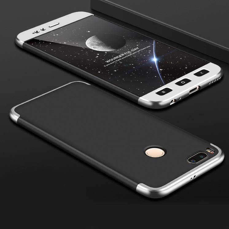 GKK 360 Protection pouzdro pro Xiaomi Mi A1 / Mi 5X black-silver