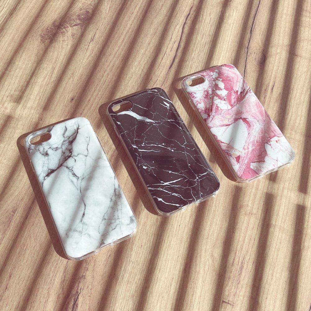 Wozinsky Marble silikonové pouzdro Samsung Galaxy A70 white