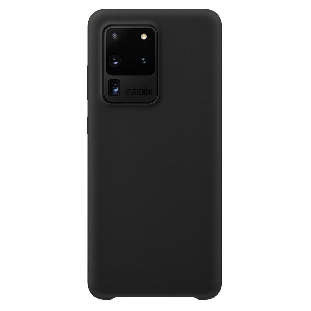 Silikonové pouzdro LUX na Samsung Galaxy S20 Ultra black