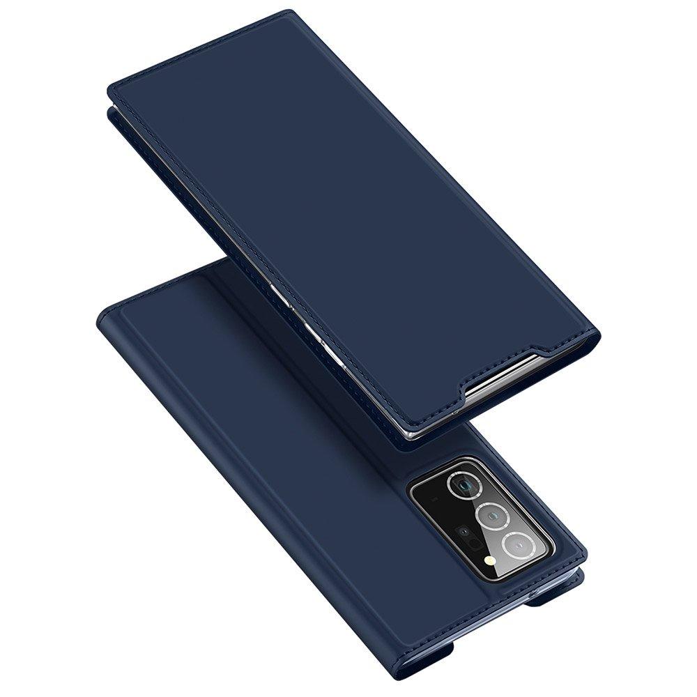 DUX DUCIS Skin knížkové púzdro preSamsung Galaxy Note 20 Ultra blue