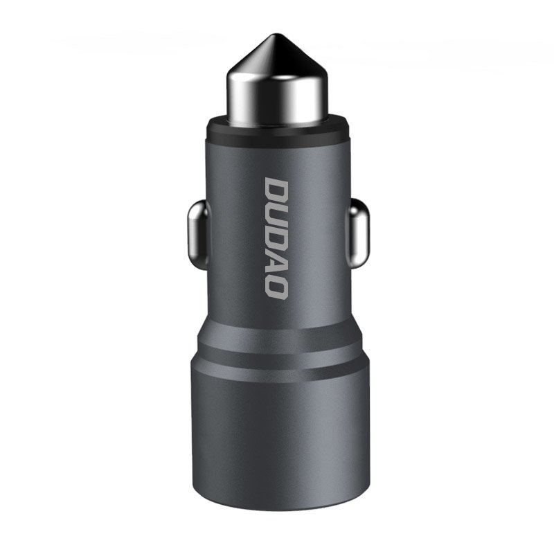 CL adaptér Dudao R5 3,1A 2 x USB Grey