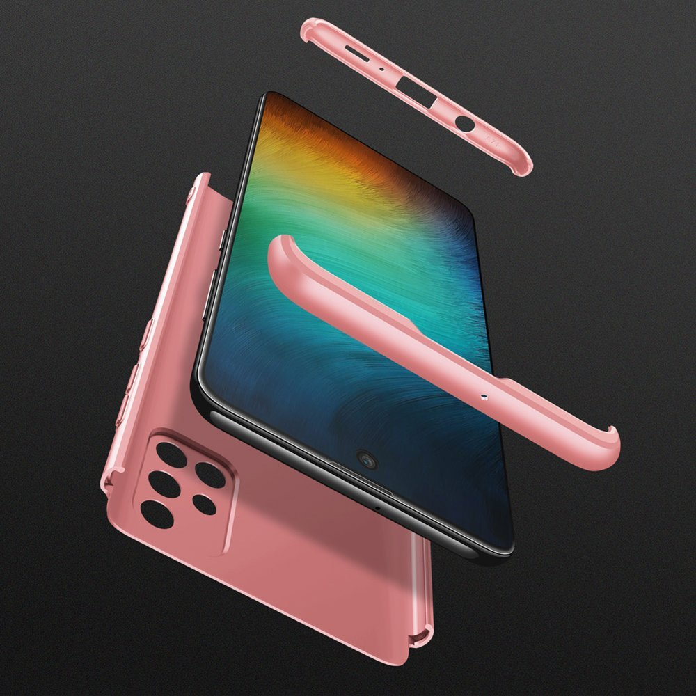 GKK 360 Protection pouzdro na Samsung Galaxy A71 pink