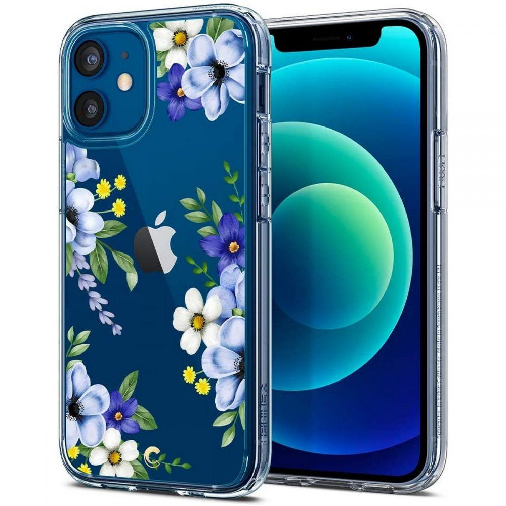 "Spigen Cyrill Cecile silikonové pouzdro na iPhone 12 Mini 5.4"" Midnight Bloom"