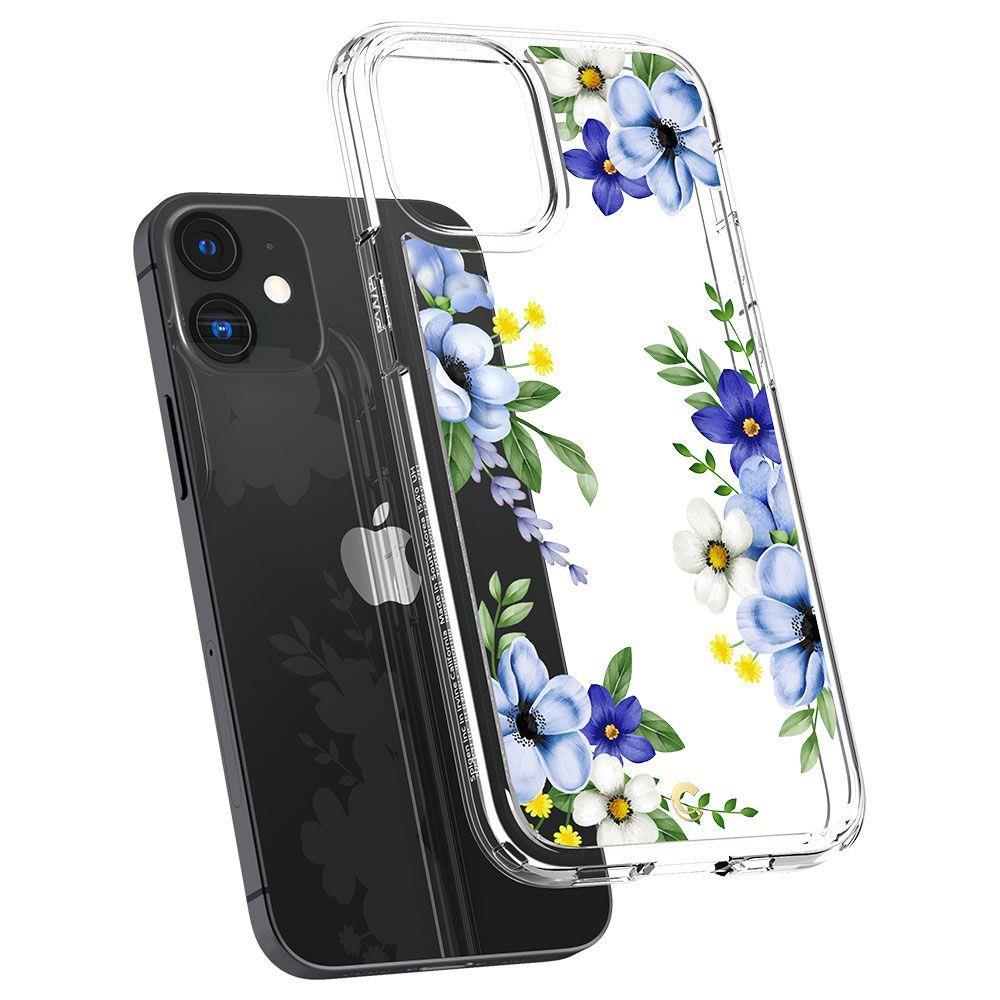 "Spigen Cyrill Cecile silikonové pouzdro na iPhone 12 Mini 5.4"" Midnight Bloom"