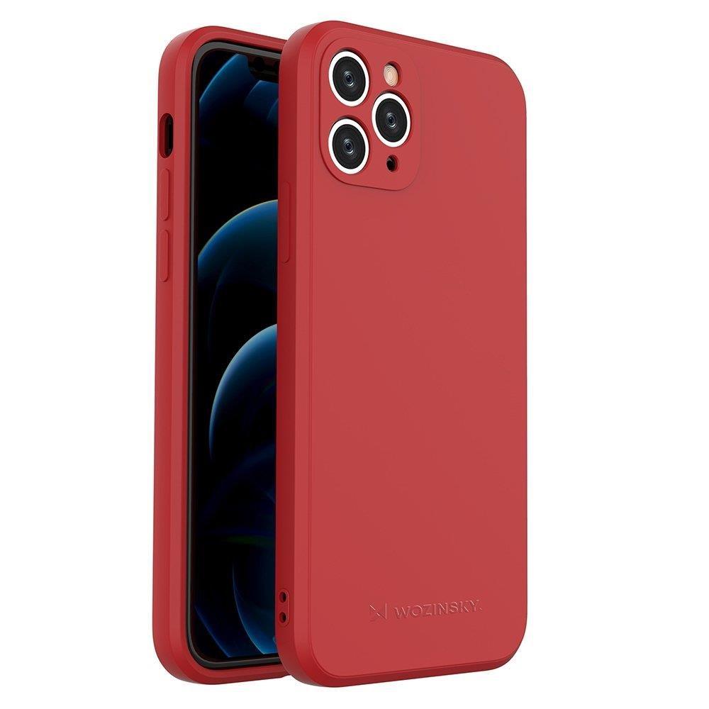 Wozinsky Color Case silikónové puzdro na iPhone 11 Pro red