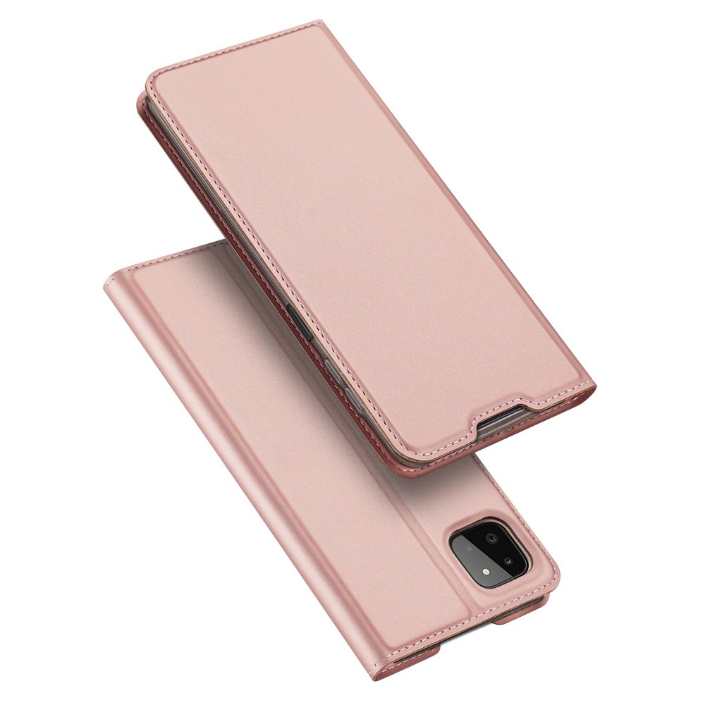 DUX DUCIS Skin knížkové púzdro preSamsung Galaxy A22 5G rose