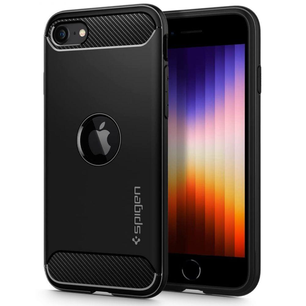 Spigen Rugged Armor Iphone Se 2020 Black 8809685628996
