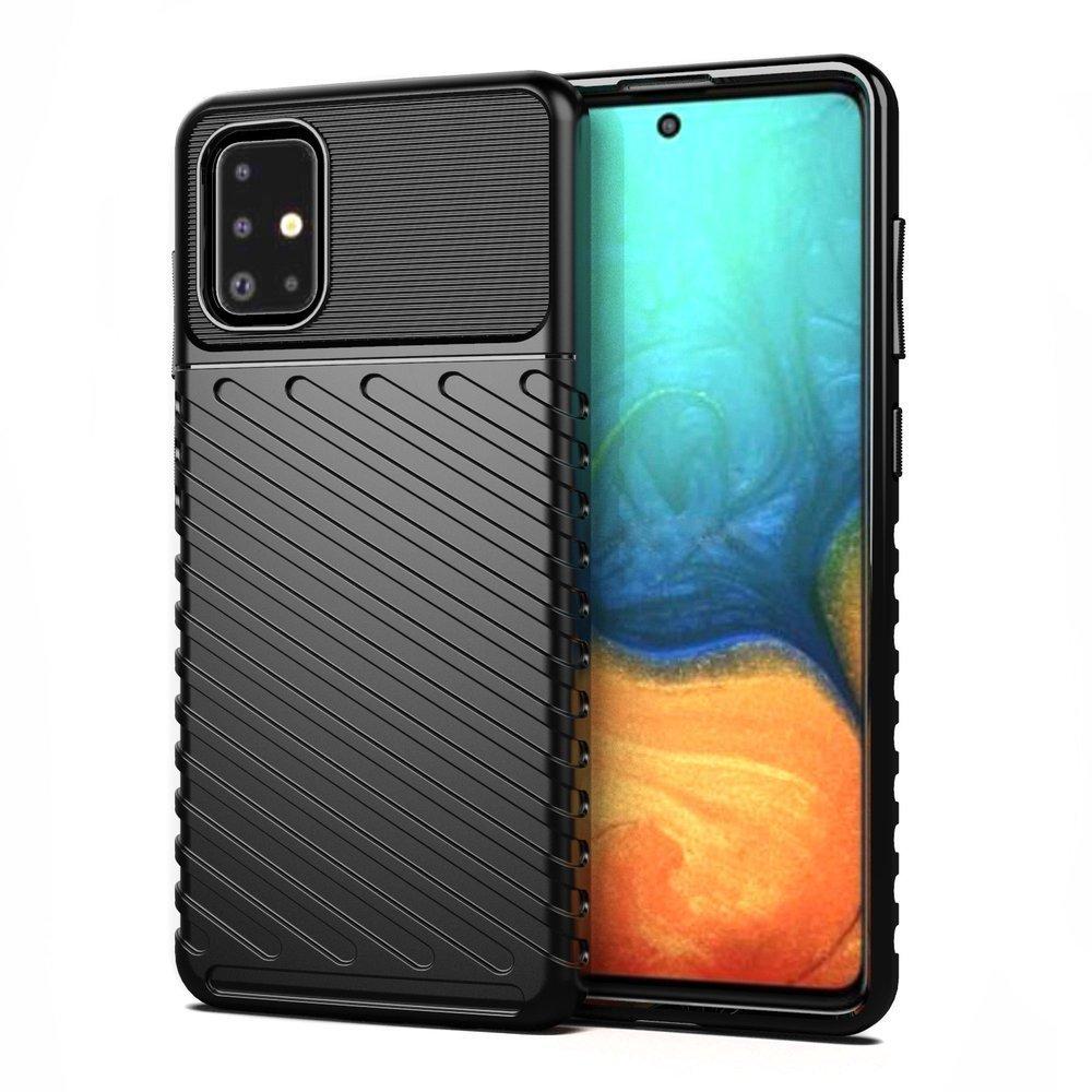 Thunder silikonové pouzdro na Samsung Galaxy A21s black