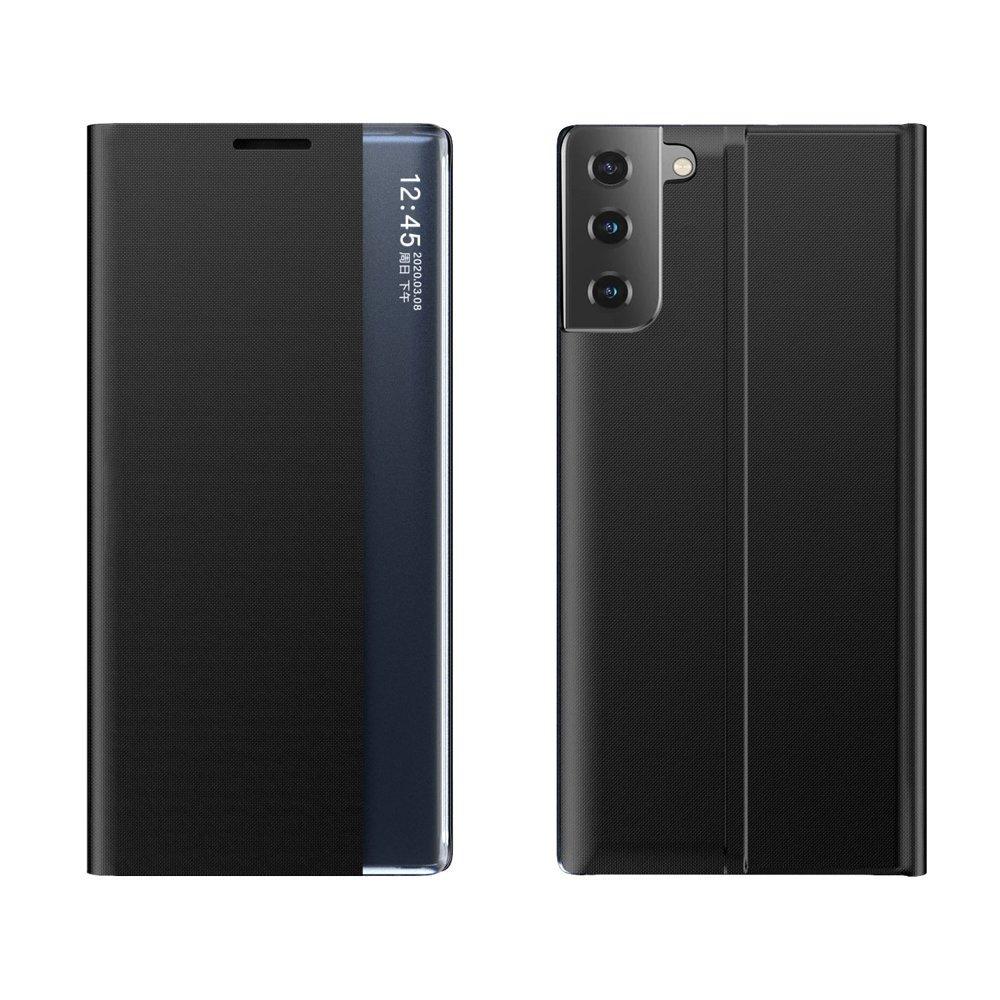 New Sleep knížkové púzdro pre Samsung Galaxy S21 PLUS 5G black