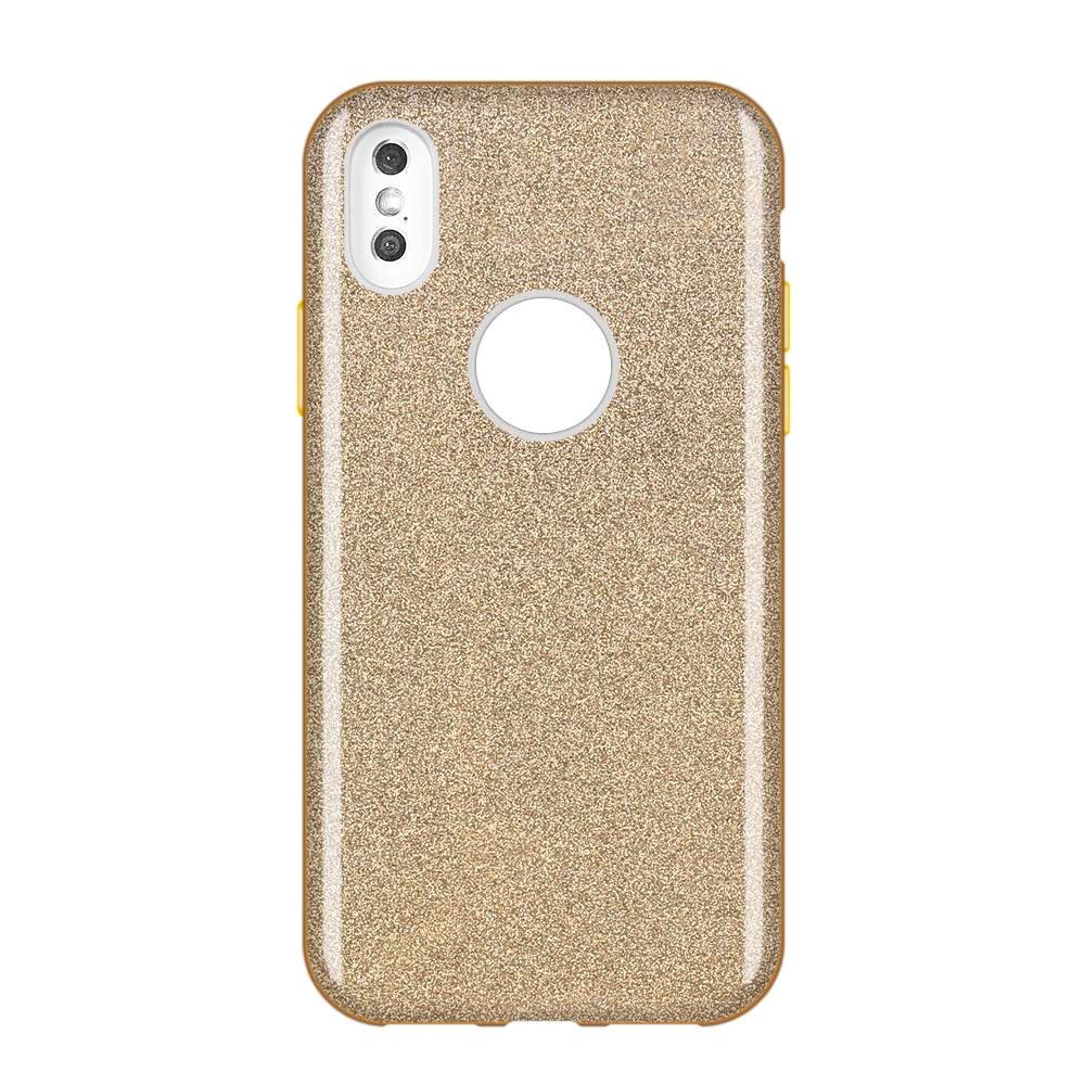 Wozinsky Glitter Shining silikonové pouzdro pro Huawei Mate 30 Lite golden