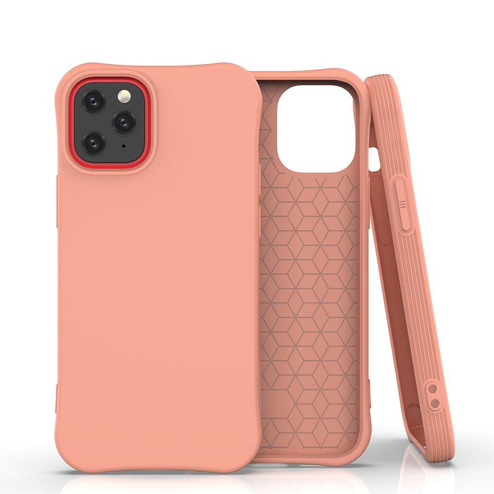 "Soft Color silikonové pouzdro na iPhone 12 / 12 Pro 6.1"" orange"