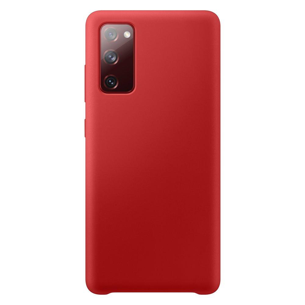 Silikónové púzdro LUX na Samsung Galaxy S20 FE 5G red
