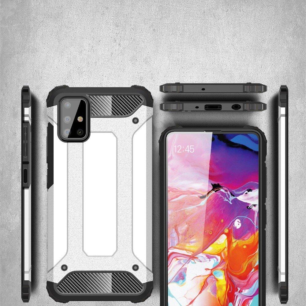 Hybrid pancéřové polykarbonátové pouzdro na Samsung Galaxy A51 black