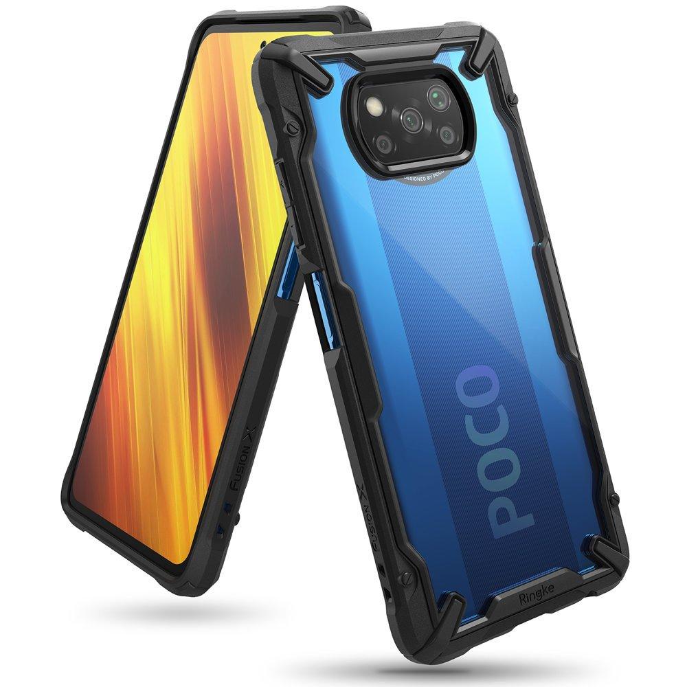 Ringke Fusion X pancéřové pouzdro na Xiaomi Poco X3 Pro / X3 NFC black