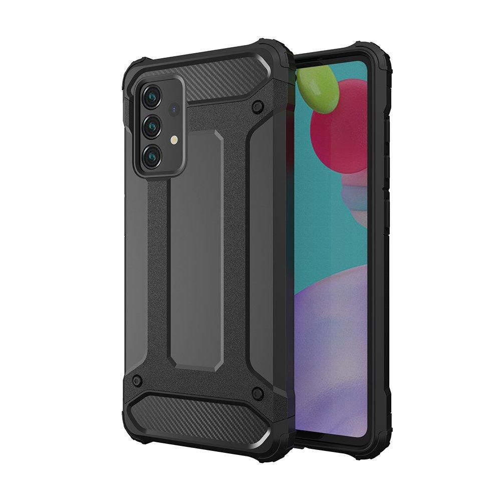 Hybrid Armor Case odolné pouzdro pro Samsung Galaxy A52 5G / A52 4G , černá 9111201925878