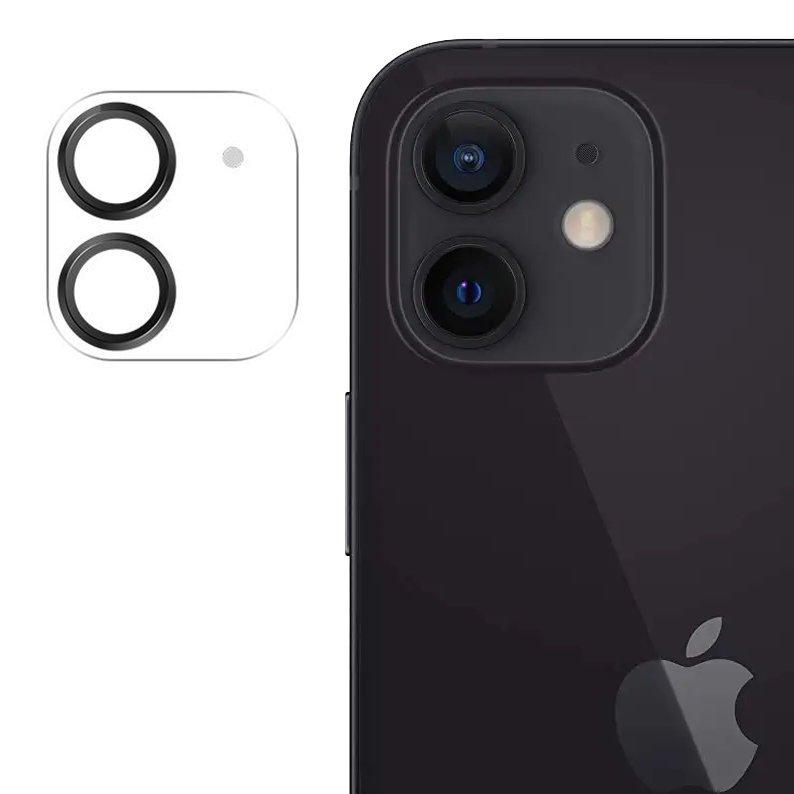 """Joyroom JR-PF686 štýlové ochranné sklo na celý fotoaparát iPhone 12 Mini 5.4 """" black"""