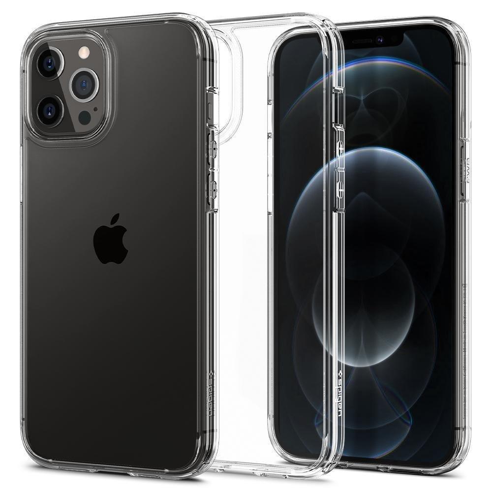 Spigen Ultra Hybrid púzdro pre iPhone 12 / 12 Pro Crystal Clear