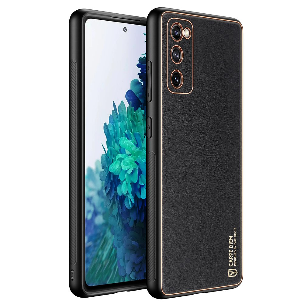 Dux Ducis Yolo púzdro z Eko kože pre Samsung Galaxy S20 FE 5G black