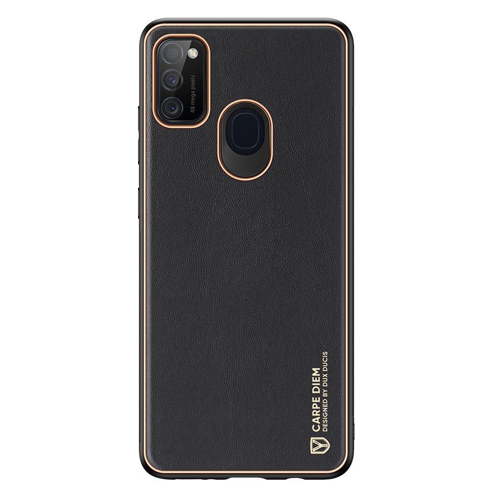 Dux Ducis Yolo púzdro z Eko kože pre Samsung Galaxy M21 / Galaxy M30s black