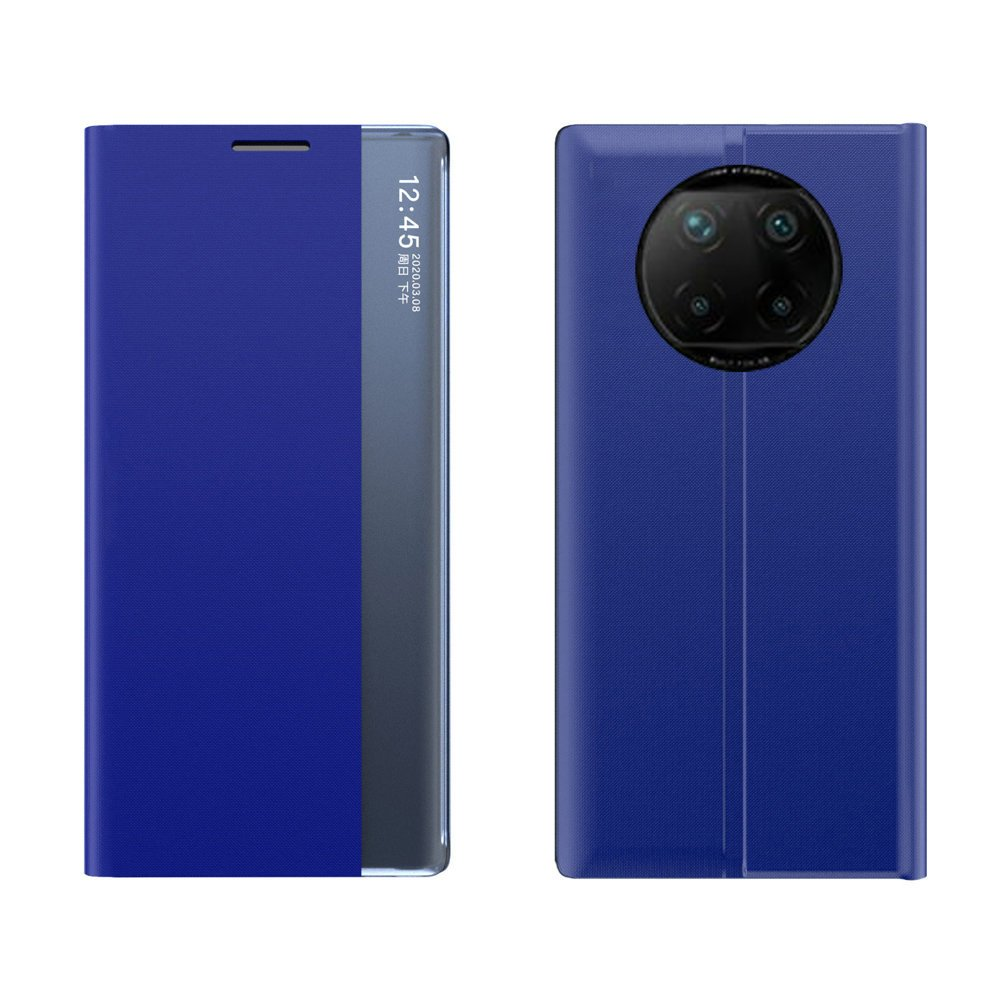 New Sleep knížkové púzdro preXiaomi Redmi Note 9T 5G blue