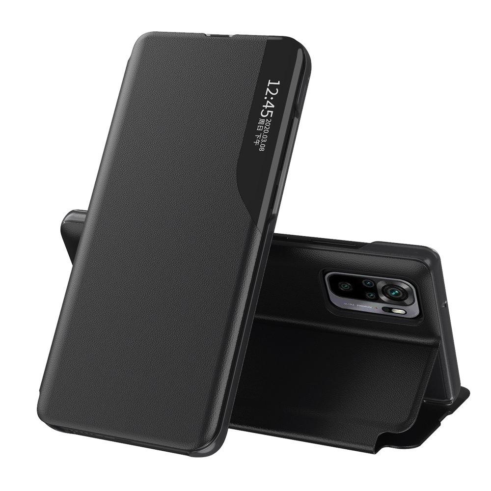 Flipové pouzdro Eco Leather View Case Xiaomi Redmi Note 10 / Redmi Note 10S , černá 9111201932999
