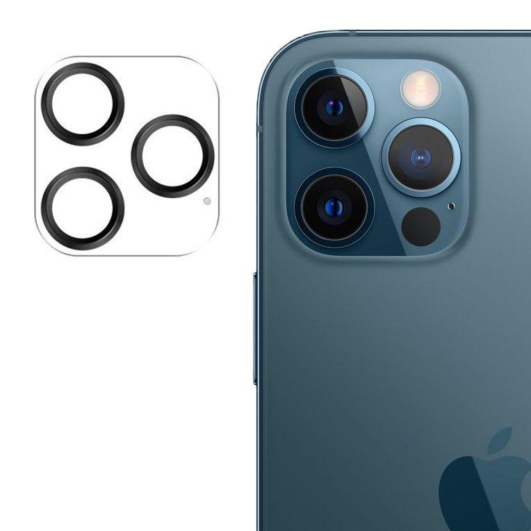 """Joyroom JR-PF688 štýlové ochranné sklo na celý fotoaparát iPhone 12 Pro 6,1"""" black"""